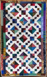 Quilt made by Sonja Hakala