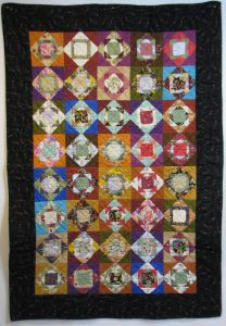 Quilt made and donated by Donna Lambert