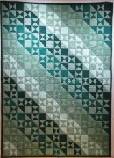 Quilt made and donated by Gwen Gensler
